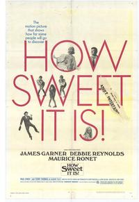 How Sweet It Is! - 27 x 40 Movie Poster - Style A