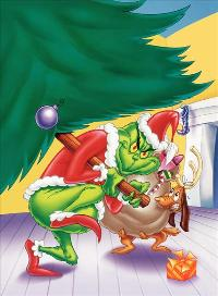 How the Grinch Stole Christmas - 43 x 62 Movie Poster - Bus Shelter Style A