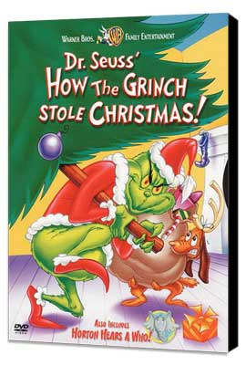 How the Grinch Stole Christmas - 11 x 17 Movie Poster - Style D - Museum Wrapped Canvas