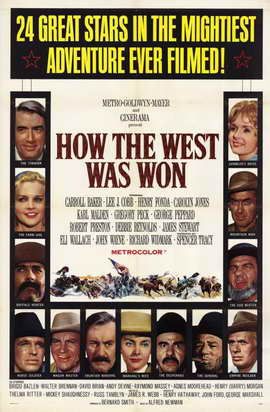 How the West Was Won - 11 x 17 Movie Poster - Style A