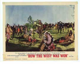 How the West Was Won - 11 x 14 Movie Poster - Style D