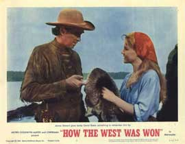How the West Was Won - 11 x 14 Movie Poster - Style F