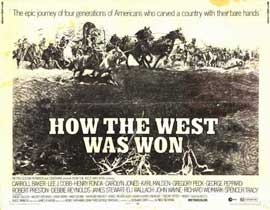 How the West Was Won - 11 x 14 Movie Poster - Style A