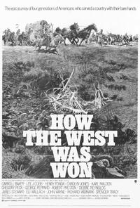 How the West Was Won - 27 x 40 Movie Poster - Style A