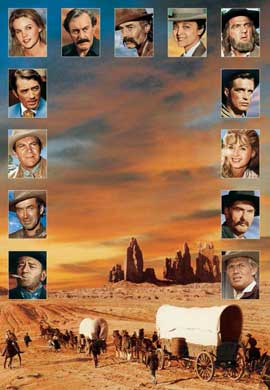 How the West Was Won - 11 x 17 Movie Poster - Style C
