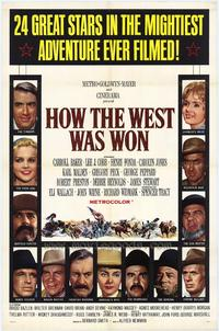 How the West Was Won - 43 x 62 Movie Poster - Bus Shelter Style A