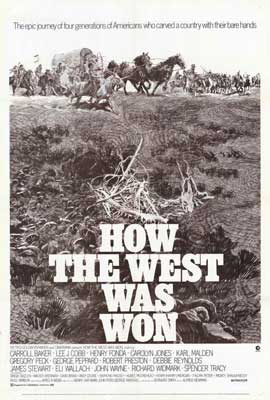 How the West Was Won - 27 x 40 Movie Poster - Style B
