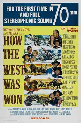 How the West Was Won - 11 x 17 Movie Poster - Style D