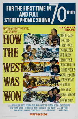 How the West Was Won - 27 x 40 Movie Poster - Style C