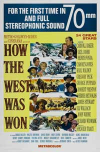 How the West Was Won - 43 x 62 Movie Poster - Bus Shelter Style B