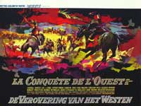 How the West Was Won - 11 x 17 Movie Poster - Belgian Style A