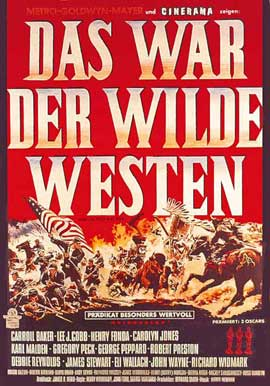 How the West Was Won - 11 x 17 Movie Poster - German Style A