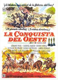 How the West Was Won - 27 x 40 Movie Poster - Spanish Style A
