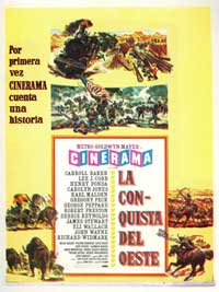 How the West Was Won - 27 x 40 Movie Poster - Spanish Style B