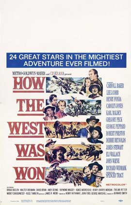 How the West Was Won - 11 x 17 Movie Poster - Style F