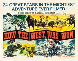How the West Was Won - 22 x 28 Movie Poster - Half Sheet Style A