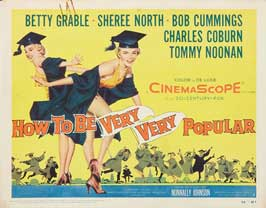 How To Be Very, Very Popular - 22 x 28 Movie Poster - Half Sheet Style A