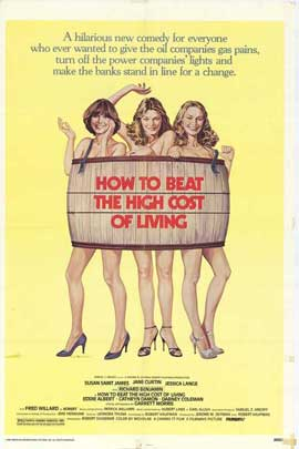 How to Beat the High Cost of Living - 27 x 40 Movie Poster - Style A