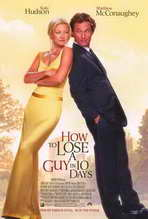 How to Lose a Guy in 10 Days - 27 x 40 Movie Poster - Style A