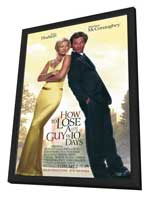 How to Lose a Guy in 10 Days - 11 x 17 Movie Poster - Style A - in Deluxe Wood Frame