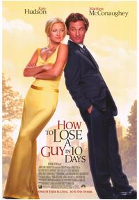 How to Lose a Guy in 10 Days - 43 x 62 Movie Poster - Bus Shelter Style A