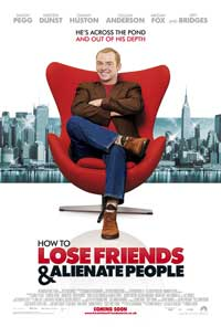 How to Lose Friends and Alienate People - 27 x 40 Movie Poster - UK Style A