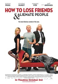 How to Lose Friends and Alienate People - 11 x 17 Movie Poster - Style B