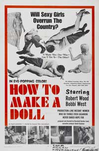 How to Make a Doll - 43 x 62 Movie Poster - Bus Shelter Style A