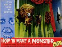 How to Make a Monster - 11 x 14 Movie Poster - Style A