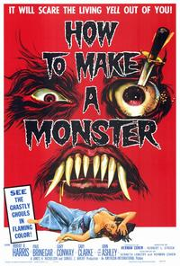 How to Make a Monster - 27 x 40 Movie Poster - Style A
