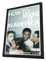 How to Make It in America (TV) - 11 x 17 TV Poster - Style A - in Deluxe Wood Frame