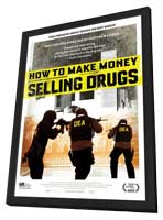 How to Make Money Selling Drugs - 11 x 17 Movie Poster - Style B - in Deluxe Wood Frame