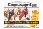 How to Marry a Millionaire - 27 x 40 Movie Poster - Style A