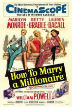 How to Marry a Millionaire - 27 x 40 Movie Poster - Style C