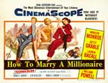 How to Marry a Millionaire - 22 x 28 Movie Poster - Half Sheet Style A
