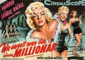 How to Marry a Millionaire - 11 x 14 Movie Poster - Style B