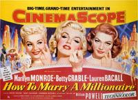 How to Marry a Millionaire - 11 x 17 Movie Poster - Style B