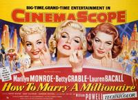 How to Marry a Millionaire - 27 x 40 Movie Poster - Style B