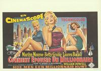 How to Marry a Millionaire - 14 x 22 Movie Poster - Belgian Style A