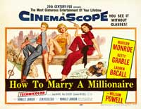 How to Marry a Millionaire - 27 x 40 Movie Poster