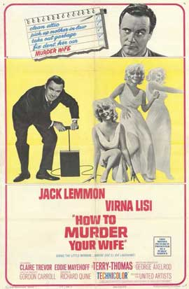 How to Murder Your Wife - 11 x 17 Movie Poster - Style A