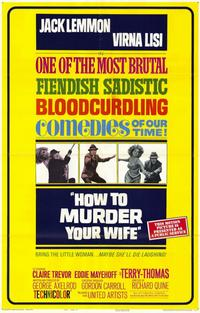 How to Murder Your Wife - 11 x 17 Movie Poster - Style B