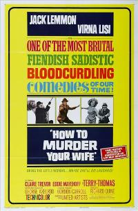 How to Murder Your Wife - 27 x 40 Movie Poster - Style B