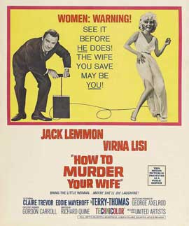 How to Murder Your Wife - 11 x 17 Movie Poster - Style D