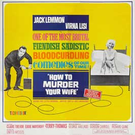 How to Murder Your Wife - 30 x 30 Movie Poster - Style A