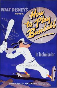 How to Play Baseball - 27 x 40 Movie Poster - Style B