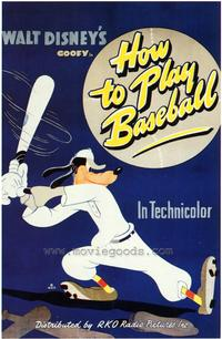 How to Play Baseball - 43 x 62 Movie Poster - Bus Shelter Style A