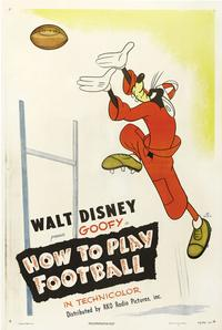 How to Play Football - 27 x 40 Movie Poster - Style A