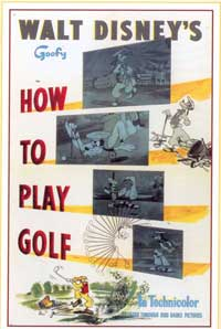 How to Play Golf - 11 x 17 Movie Poster - Style A