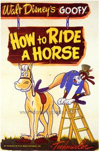 How to Ride a Horse - 43 x 62 Movie Poster - Bus Shelter Style A